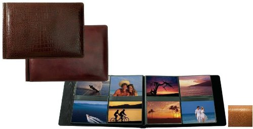 Raika RM 178 TAN 4in. x 6in. Album with 8 Photos - Page - Tan by Raika®