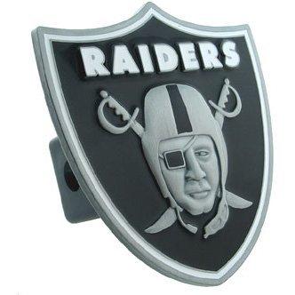 Siskiyou Oakland Raiders Large Logo Hitch Cover