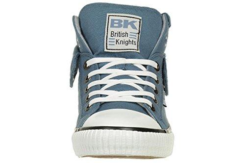 Brittiska Riddare Roco Bk Män Tränare Sneaker B34-3702-13 Blå Blau
