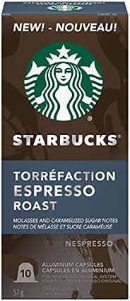 Starbucks by Nespresso Espresso Roast Nespresso Coffee Capsules, Original Line Compatible, 5 X 10 Nespresso Co