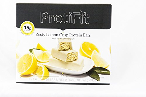 Proti Fit Zesty Lemon Crisp Protein Bars Ideal Protein Compatible