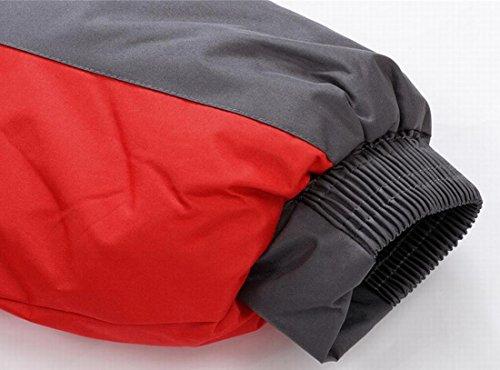 Rossa Coreana Caldo Alla Da Colletto Giù Montagna L Esterno Noi Eku Giacche Sci aB1wxq
