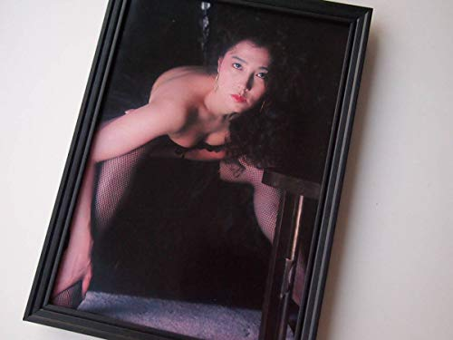 額装大原麗子グラビアセクシーセミヌード80年代昭和アートフレームポスター写真集カレンダーサントリーレコード