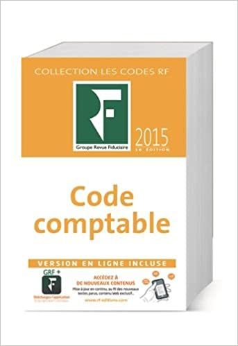 Livre Code comptable 2015 pdf, epub ebook