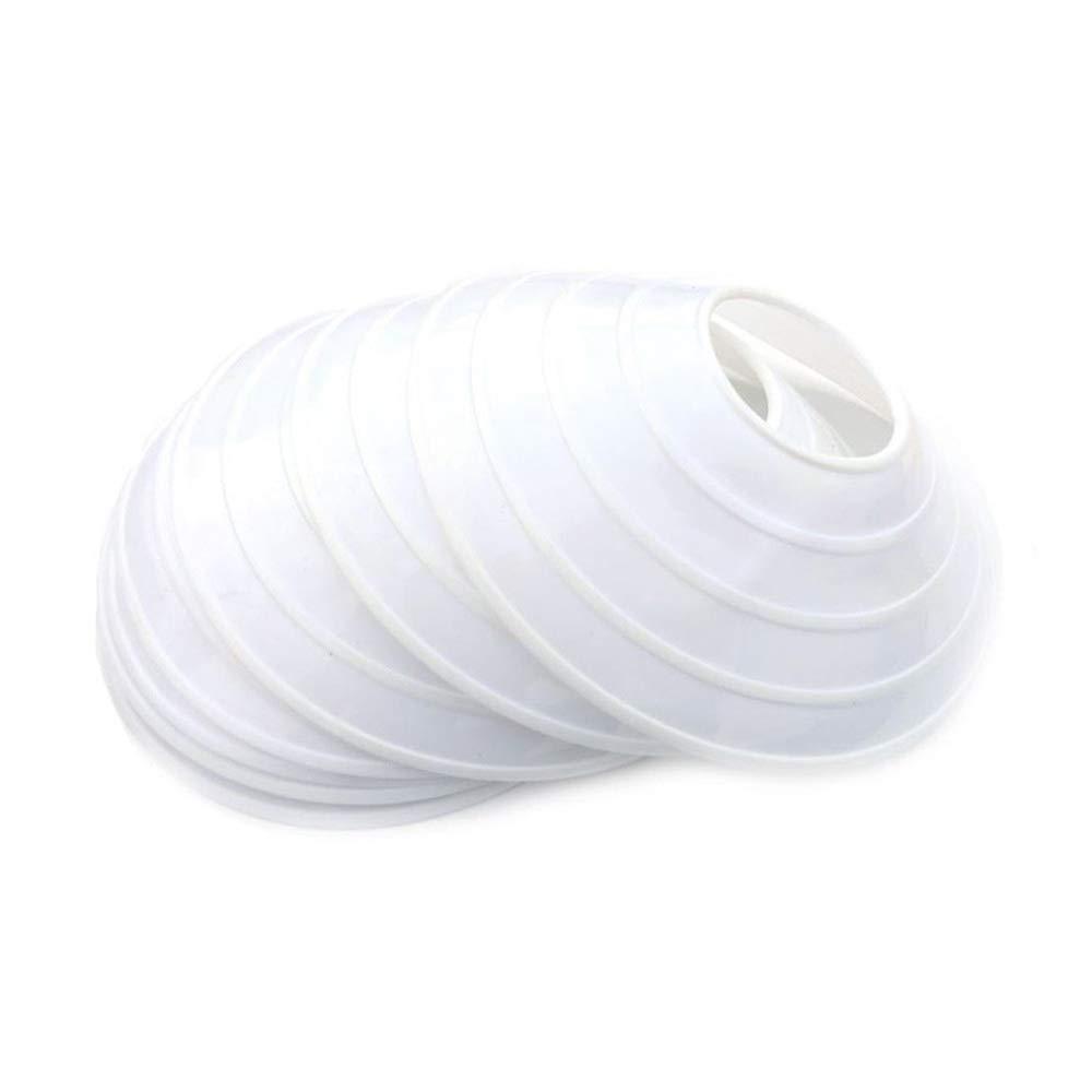 【激安大特価!】 トレーニング安全マーカー( 10パック) 10パック) 200mm 200mm ホワイト ホワイト B00GS3NBN6, あきんどざむらい:037ce05e --- timesheet.woxpedia.com