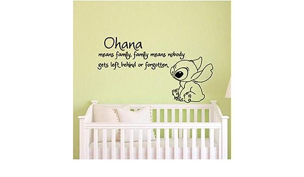 Ziruixiong Ohana Significa Familia Significa Que Nadie Se Quede ...