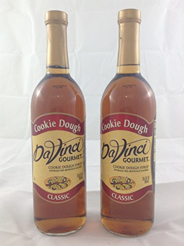 DaVinci Gourmet Cookie Dough Flavored Syrup 2 Bottles