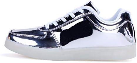 Rojeam Unisex Erwachsene LED Schuhe