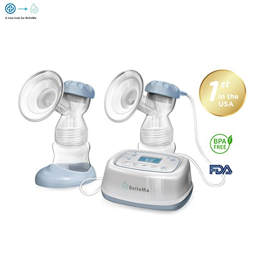 BelleMa Effective Pro Double Electric Breast Pump (Mom's Choice Award Winner),...