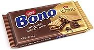 Biscoito Wafer, Alpino, Bono, 110g