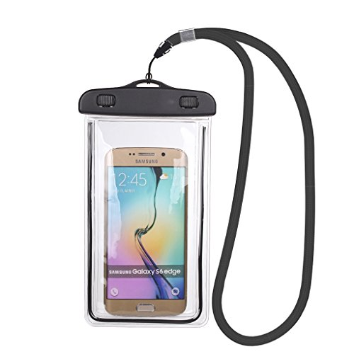 Mini-Factory Universal Waterproof Case for iPhone 6/6s / Plus 5s / Galaxy S6 / Edge for Swimming/Diving/Beach/Water Activities IPX8 100 - Swimming Factory
