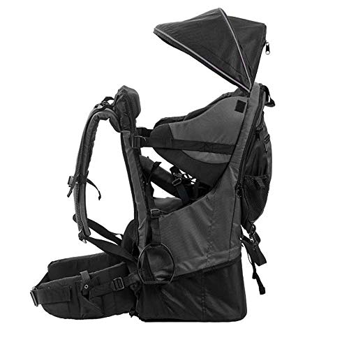 Lixada Premium Baby Backpack Carrier for Hiking with Kids – Camping Cross Country Child Carrier with Stand & Sun Shade Visor Kid Toddler. Carry Your Child Ergonomically, Lightweight – 3.9lbs
