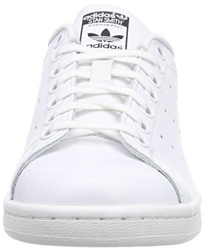 adidas Stan Smith W, Zapatillas para Mujer Multicolor (Blanco / Azul / Dorado)