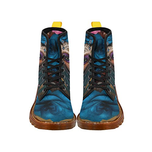 Shoes Women D up for Lace Multicoloured14 Story Boots Fahion 4fnwxFnOTq