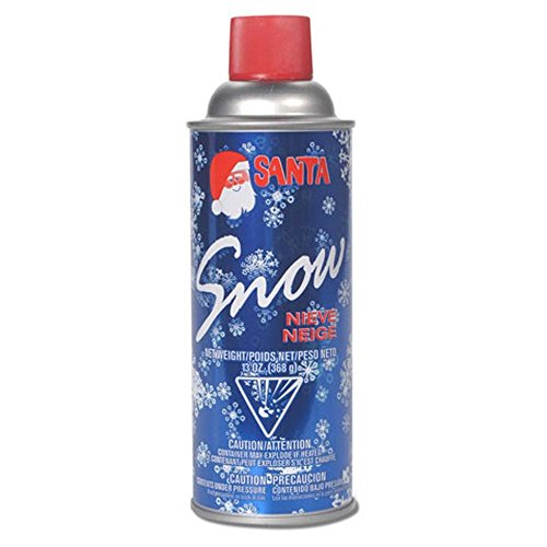 BestPysanky 13oz Can of Fake Decorative Snow for Indoor or Outdoor Use
