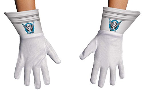 Disguise Saban Super MegaForce Power Rangers Child Gloves,