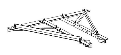 Rohn Products - HBUTVRO - 25G/45G univ  house brkt