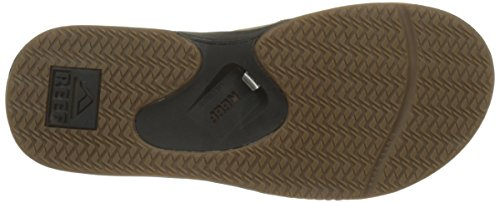 Brown Men's Sandal Leather 1 Tweed Reef Fanning B4nzIww