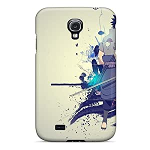 Galaxy S4 Case Slim [ultra Fit] Uchiha Sasuke Naruto Shippuden Anime Protective Case Cover
