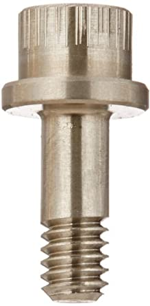 Plain Finish Pack of 1 Flange Socket Cap Head 0.164 Shoulder Diameter Hex Socket Drive Made in US Aluminum Prairie Bolt 3//4 Grip Length #8-32 Thread Size