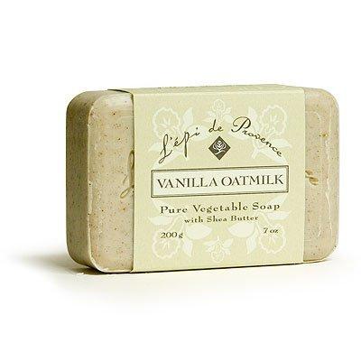 L'Epi de Provence Shea Butter Bath Soap - Vanilla Oatmilk - 7oz. L' Epi de Provence