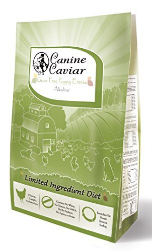 Canine Caviar Dry Puppy Chicken/Pea, 4.4 lb by Canine Caviar Pet Foods Canine Caviar Chicken