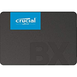 Crucial BX500 240GB 3D NAND SATA 2.5-Inch Internal SSD, up to 540MB/s - CT240BX500SSD1 Black/Blue 41eXT6YT%2BjL. SS300