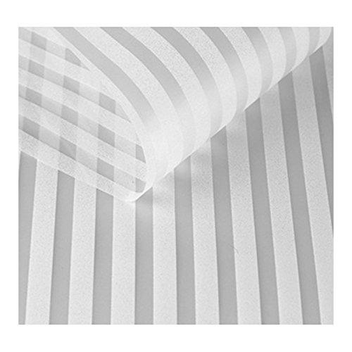 Fgvbhtr privacy Vetrofanie striscia autoadesiva statica vetro finestra tende per camera da letto bagno soggiorno ufficio