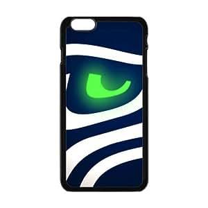 "Hard Plastic Case NFL Seattle Seahawks Apple iPhone 6 Plus 5.5"" inch Case"
