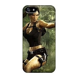 Premium Durable Tomb Raider Underworld Game Widescreen Fashion Tpu Iphone 5/5s Protective Case Cover