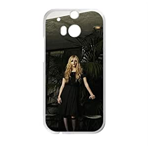 DAZHAHUI Avril Lavigne Design Pesonalized Creative Phone Case For HTC M8 BY RANDLE FRICK by heywan