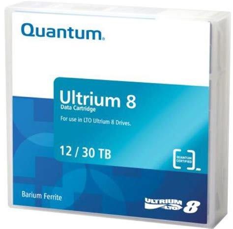 Price comparison product image MR-L8MQN-01- Quantum LTO Ultrium 8, 12TB/30TB, Part # MR-L8MQN-01