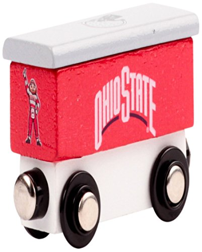 (College Team Trains NCAA Ohio State Buckeyes Kids Toy Box Car, Small)