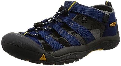 KEEN Big Kid (8-12 Years) Newport H2 Blue Depths/Gargoyle Sandal - 6 M US Big Kid