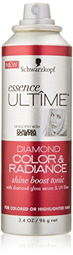 Schwarzkopf Essence Ultime Diamond Color, Shine Spray, 3.4 Ounce (Colors Ounce Spray 3.4)
