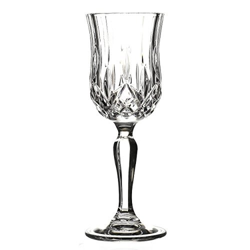 Lorren Home Trends Opera Liquor Glass Set (Set of 6), Clear by Lorren Home Trends