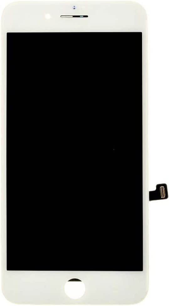 Digitizer /& Frame Assembly for Apple iPhone 7 Plus LCD Premium Grade White CDMA /& GSM with Glue Card