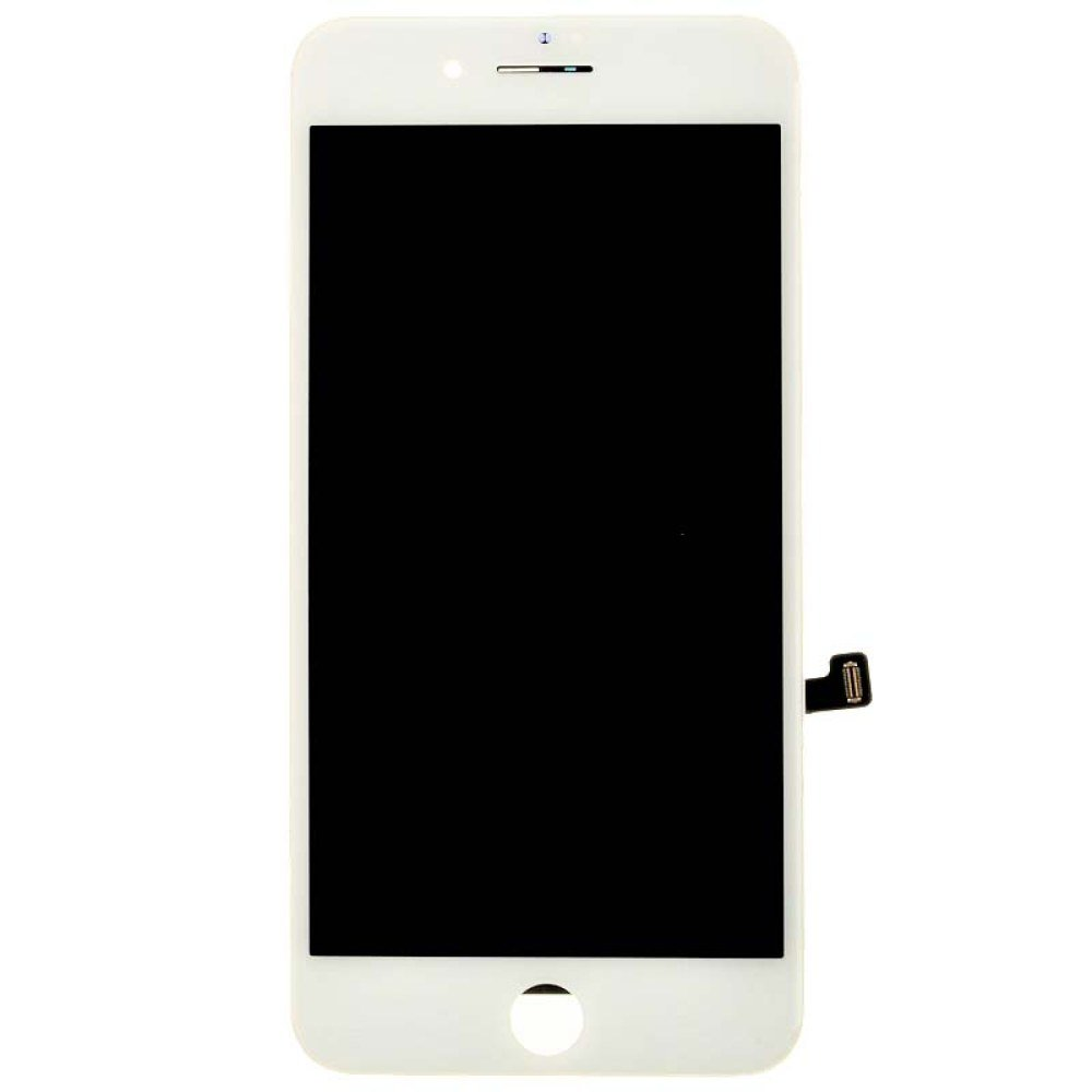 LCD, Digitizer & Frame Assembly for Apple iPhone 7 Plus (CDMA & GSM) (White) (Premium Grade) with Glue Card