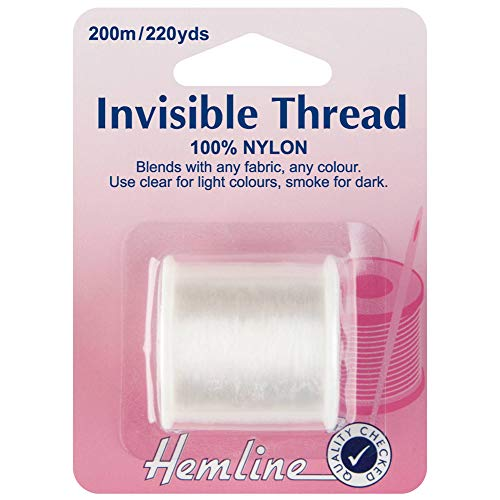 200 m Clear Nylon Invisible Thread String for Hanging Christmas Ornaments Sew