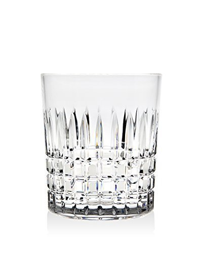 Godinger Tartan Old Fashioned Ceska Set of 4 Glasses