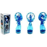 Bettli New Portable Hand Held Battery Power Fan Air Water Mist Bottle Cooling (Blue)