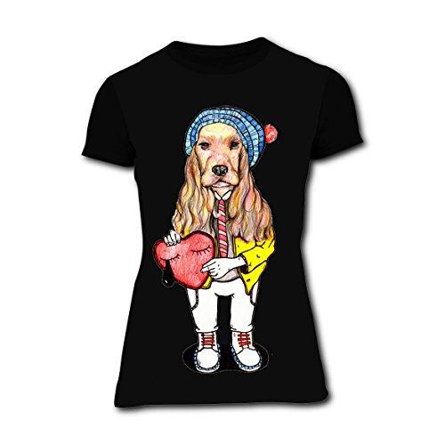 LZQ Tshirt Women 100% Cotton New Unique Tshirt