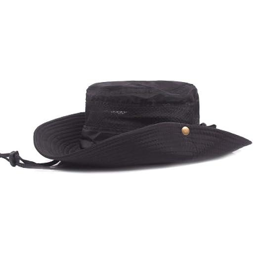 KFEK Sombrero al Aire Libre Verano Sombrero de Pescador Visera UV ...