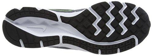 Nike Herren Downshifter 6 Trainingsschuhe Schwarz (grigio Scuro / Nero / Elctrc Grn / Wht)