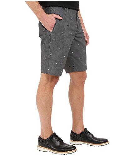Nike Modern Fit Print - Pantalón corto para hombre Negro / Gris Oscuro / Blanco / Gris