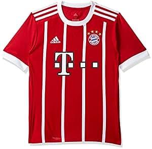 adidas B. Munich Camiseta, niños, Rojo/Blanco, 13-14 años