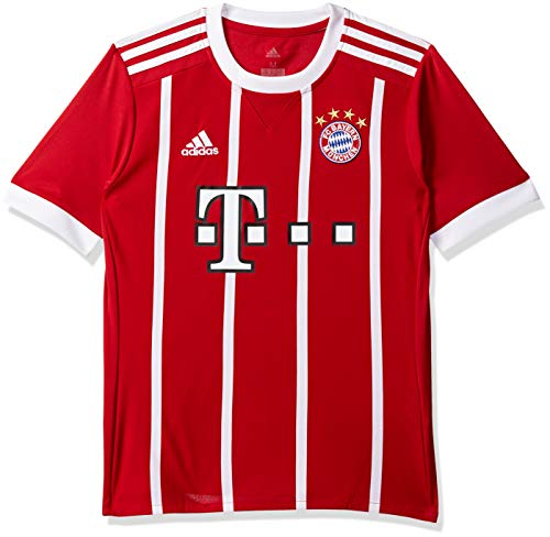 adidas FCB H JSY Y Camiseta 1ª Equipación Bayern Munich 2017-2018 ... 8bc53204563