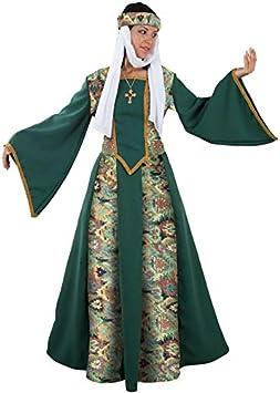 DISBACANAL Disfraz de Princesa Medieval - -, M: Amazon.es ...