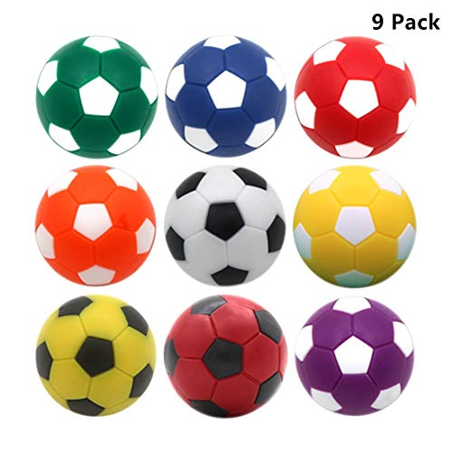Cheapest Price! OuMuaMua Table Soccer Foosballs Replacements 1.42 inch Soccer Balls for Foosball Tab...