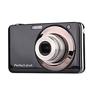 Powpro PP-V600 2.7 Inch TFT 5X Optical 15MP 1280x720 HD Anti-shake Smile Capture Digital Video Camera